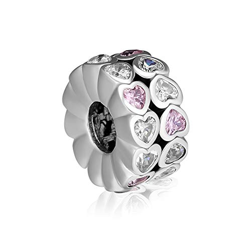 CKK Silver Charm 925 Sterling Silver Charm Abundance of Love Beads Fits Pandora Bracelets Women
