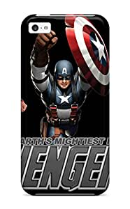 Excellent Iphone 5c Case Tpu Cover Back Skin Protector The Avengers 69