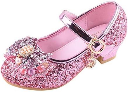 ボコダダ(Vocodada)サンダル 女の子 フラット 子供用 女の子 歩きやすい 真珠 スパンコール ラインストーン プリンセスシューズ 小さな革靴 クリスタルシューズ 可愛い