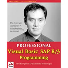 Professional SAP R/3 Programming Using Visual Basic 6