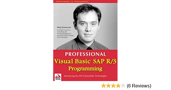 Professional SAP R//3 Programming Using Visual Basic 6