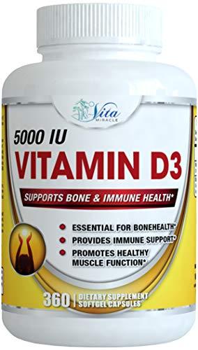 Vitamin softgels Cholecalciferol Enhanced Absorption product image