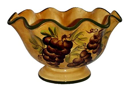 Tuscany Grape Fruit Bowl