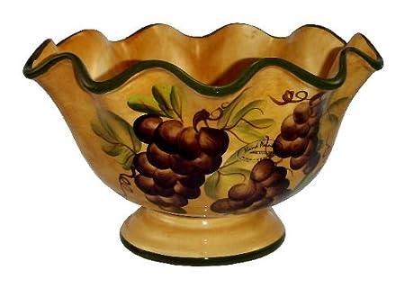 Tuscany Grape Fruit Bowl