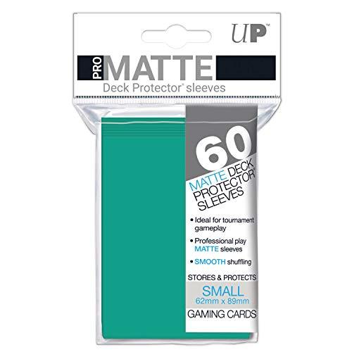 Ultra Pro Standard PRO-Matte Deck Protectors for Pokemon & Magic - Aqua (50 - Aqua Deck