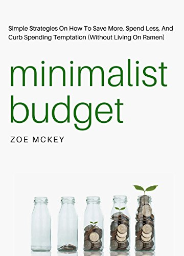 Minimalist Budget Strategies Spending Temptation ebook product image