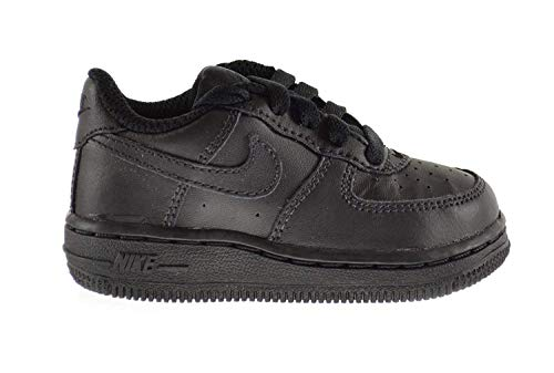 Nike Force 1 (TD) Baby Toddlers Shoes Black/Black 314194-009 (6 M ()