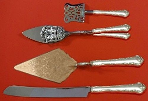 Peachtree Manor By Towle Sterling Dessert Pastry Serving Set HHWS 4pc - Manor Towle Peachtree