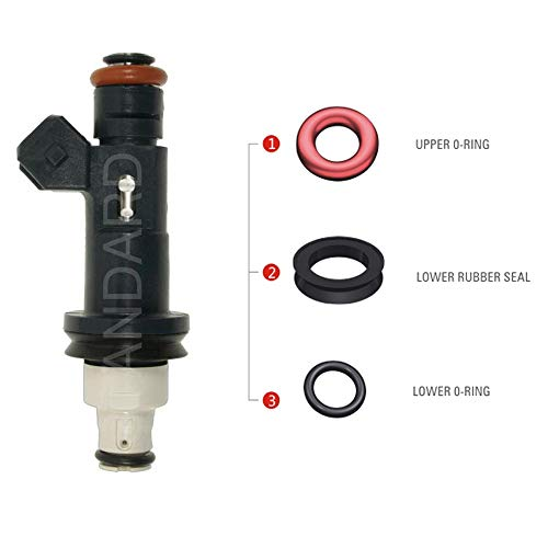 Set 8 Fuel Injector Repair Seal Kit for Injector Part # XR82-AE JAGUAR XJ8 XK8 VANDEN PLAS