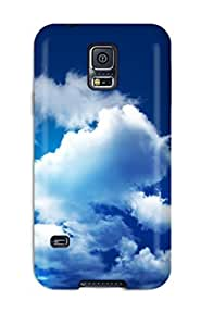 New Shockproof Protection Case Cover For Galaxy S5/ Cloudy Sky Case Cover