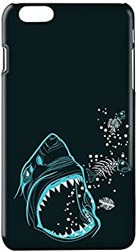 Funda Carcasa Tiburon para iPhone X plástico rígido