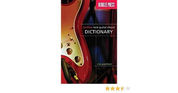 Rick Peckham: Berklee Rock Guitar Chord Dictionary. Para Guitarra ...