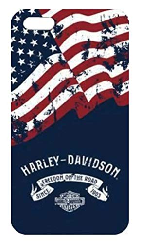 (Harley-Davidson Americana iPhone 8/7/6S/6 Two Piece Phone Shell, Navy 7856)