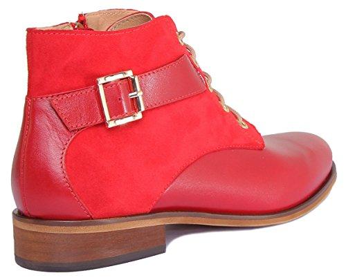 Sandales Reece Mila Red Justin Donna 6FgwRqE0