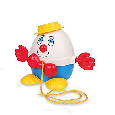 Basic Fun Fisher Price Classics Humpty Dumpty Pull Along: Toys & Games