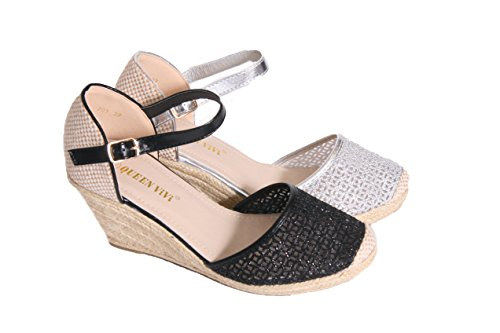 Mojoshu - Zapatos de tacón  mujer negro