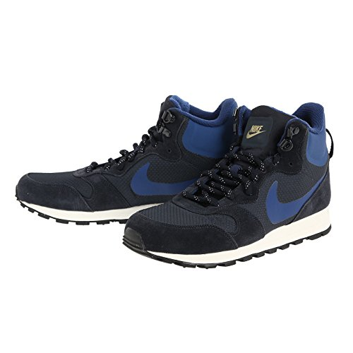 Nike 844864-440, Scarpe da Fitness Uomo Diversi Colori (Dark Obsidian / Coastal Blue-sail)