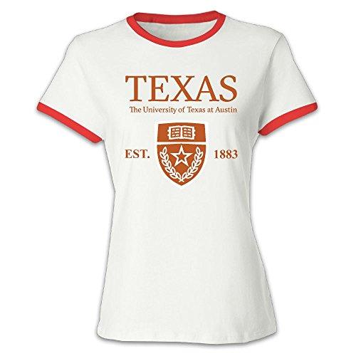 QTHOO Women's O Neck University of Texas at