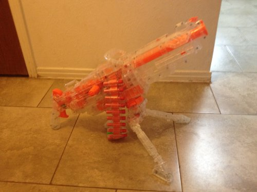 Nerf Nerf Clear Vulcan w/Red Darts by Hasbro