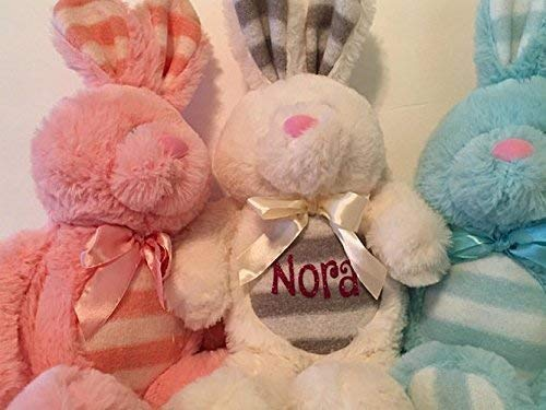 Adorable Personalized Large Plush Floppy Bunny Stuffed Toy Baby Shower Gift