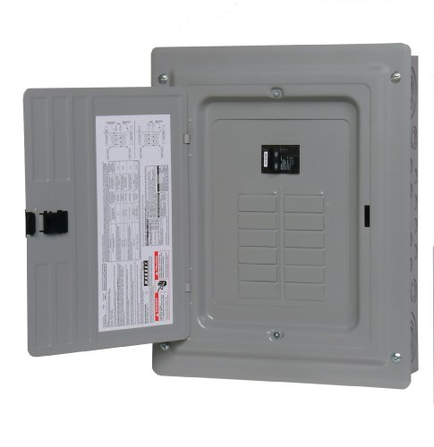 - MURRAY LC1224B1100 Load Center, 12 Space, 24 Circuit, 100A, Main Breaker