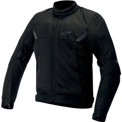 Alpinestars Quasar Textile Jacket , Distinct Name: Black, Gender: Mens/Unisex, Apparel Material: Textile, Primary Color: Black, Size: 3XL 3303514-10-3X