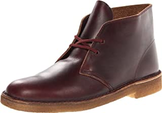 CLARKS Men's Desert Chukka Boot, Burgundy Horween Leather, 7 M US (B00AYCLJZ4) | Amazon price tracker / tracking, Amazon price history charts, Amazon price watches, Amazon price drop alerts