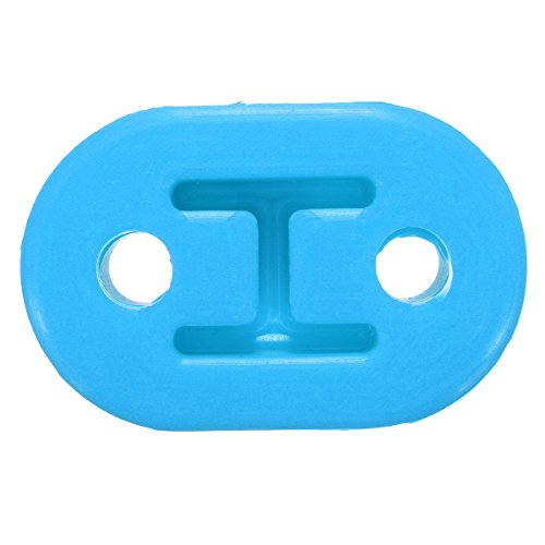 K&A company Universal Upgraded Bracket Heavy Duty Exhaust Rubber Repair Hanger Support Mount, Blue -