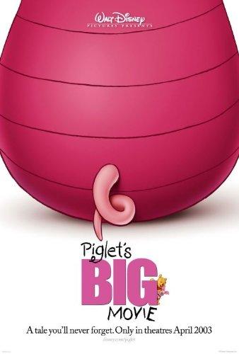 Piglet's Big Movie (Minor Imperfections) 27x40 Original D/S Movie Poster vg