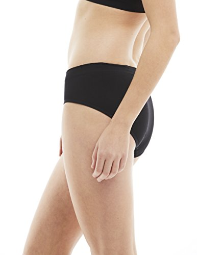 0d53a487cc9 Kalon 6 Pack Women s Hipster Brief Nylon Spandex Underwear (Medium ...