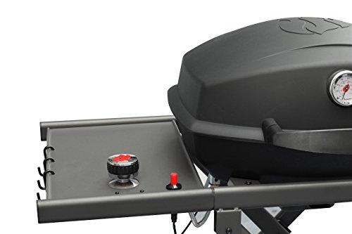 landmann usa 42235 pantera portable gas grill black gas barbeque reviews. Black Bedroom Furniture Sets. Home Design Ideas