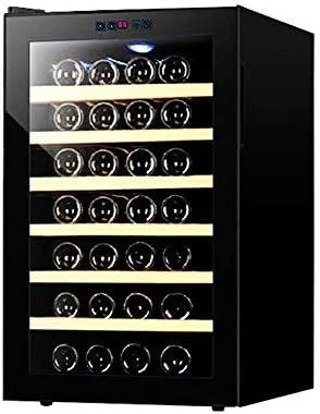 Vinoteca termoeléctrica, Bodega de vinos tintos y Blancos |Refrigerador, silencioso de Acero Inoxidable, 450525730 mm