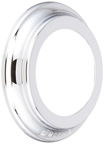 Moen 2187 Monticello Spout Escutcheon, Chrome (Spout Moen Escutcheon)