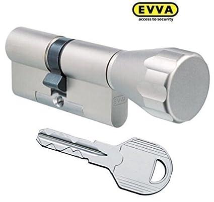 Evva ICS-Cerradura de seguridad (con 8llaves, longitud (a/b)
