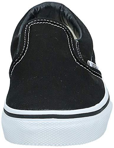 Vans Boys' Classic Slip-On (Tod/YTH) - Black/True White - 2 Youth
