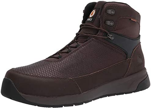 "Carhartt Men's Force 6"" Waterproof Nano Comp Toe Boot Cma6425 Industrial"