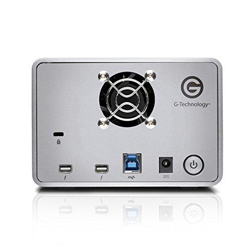 G-Technology G-RAID with Thunderbolt Dual Drive Storage System 8TB (Thunderbolt-2, USB 3.0) (0G04085)  by G-Technology (Image #4)