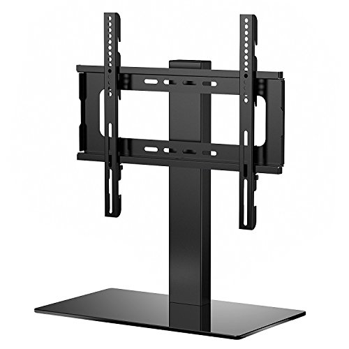 1HOMEFURNIT TV Stand Table Pedestal Bracket LCD/LED TV 26 32 37 39 40 42 46 47 Inch Swivel Height Adjustable (Widescreen Tv Stands)