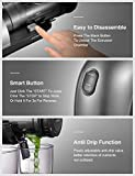 Juicer Machines, AICOOK Adjustable Fruit Flesh Slow Masticating Juicer, Upgraded No Filter Design Rapid Cleaning, Multifunctional Juicing Modes for whole Fruit, Vegetables and Sobert, Recipes Included