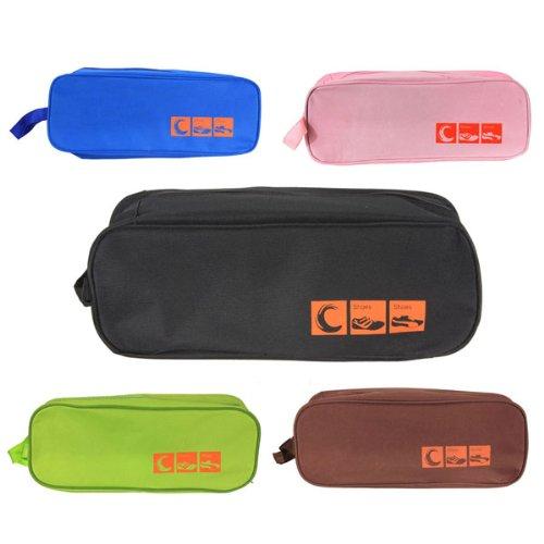 TOOGOO(R) Portable Scarpa impermeabile borsa da viaggio Custodia bagagli della borsa Outdoor Travel - Blu