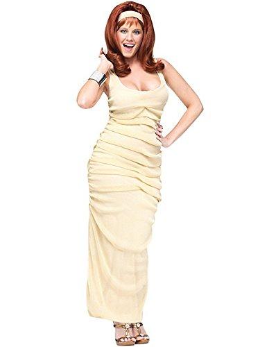 FunWorld The Movie Star Ginger Costume, Beige, Small/Medium -