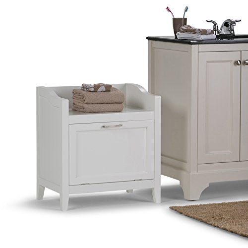 Avington Storage Hamper Bench White New 840469013513 Ebay