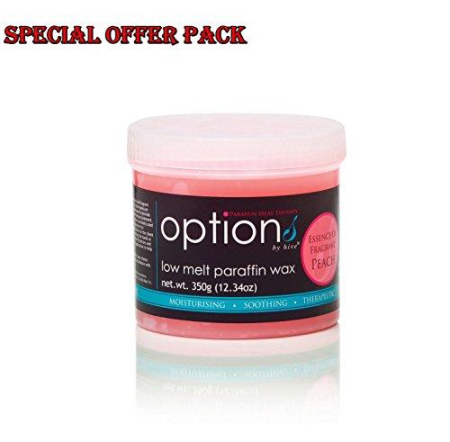 Hive Low Melt Peach Paraffin Wax Body Hair Removal 350g C...
