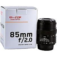 Mitakon CREATOR full-frame 85mm F2.0 Portrait Manual Focus Prime Lens for Canon EOS EF DSLR Cameras