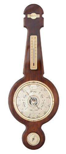 COBB & Co. Large Banjo Barometer, Walnut
