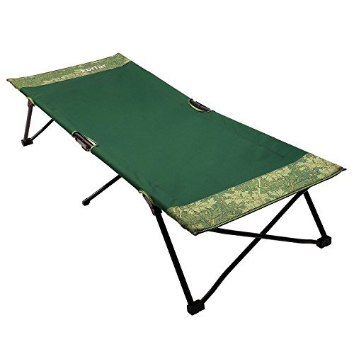 Forfar Camping Cot Portable Lightweight Foldable Sleeping Military Bed