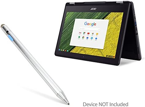 Broonel Silver Mini Fine Point Digital Active Stylus Pen Compatible with The Acer Chromebook/311 11.6