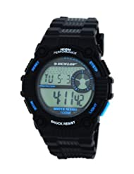 Dunlop Men's Chronograph Watch DUN-176-G01-Triad-100M Water Resistant, El Backlight