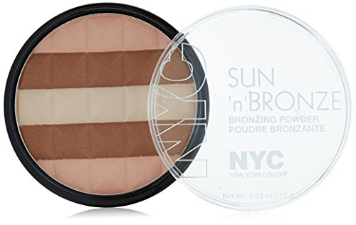 N.Y.C. New York Color Sun 2 Sun Bronzing Powder, Hamptons Radiance, 0.42 Ounce