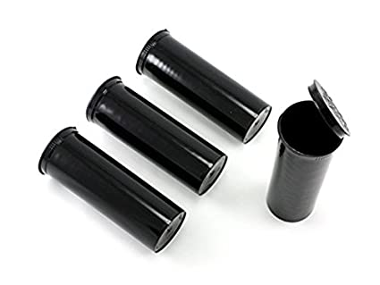 f6356b507f90 60 Dram, Pack of 10, Black Waterproof Airtight Smell Proof Stash Box ...